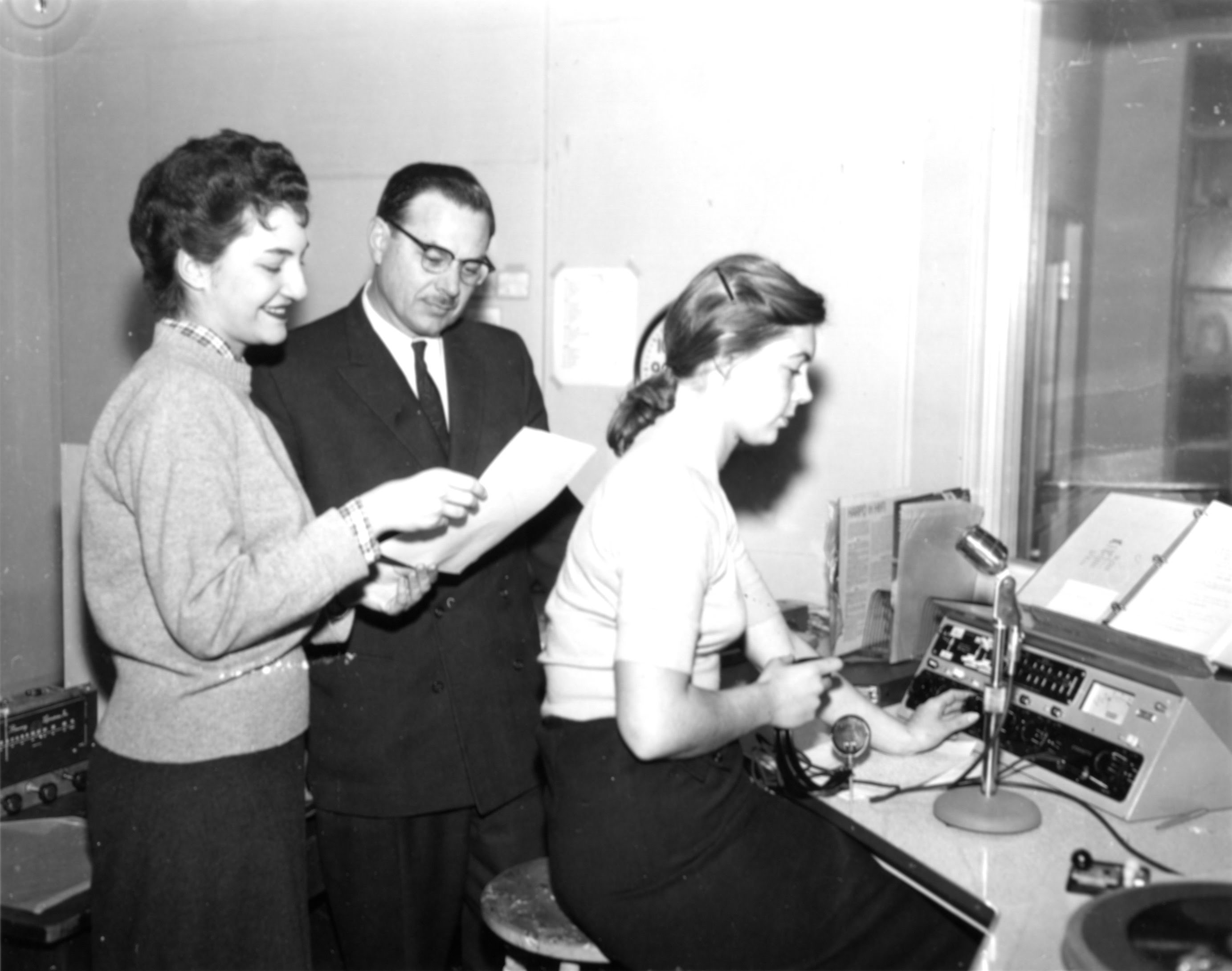 President Murray at WECW in the mid 1960s