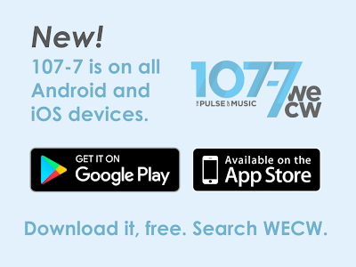 107-7 Announces Android App - 107-7 WECW